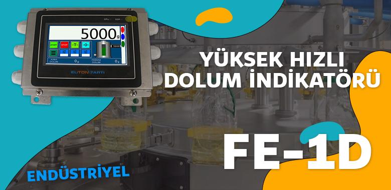 FE1D Endüstriyel Yüksek Hızlı Dolum İndikatör