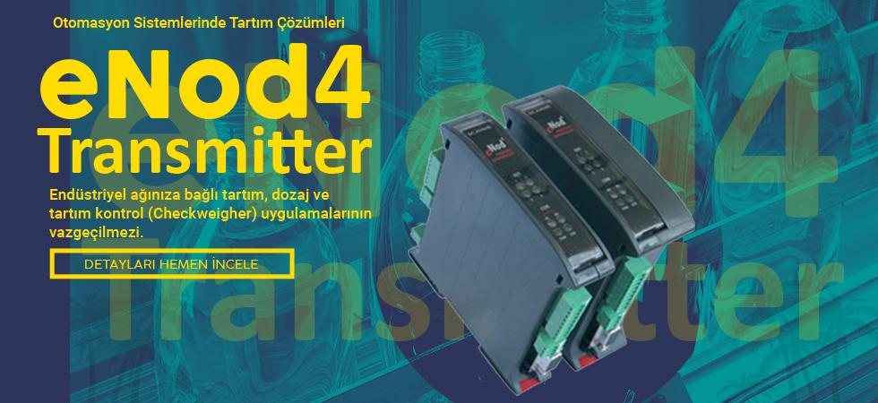 eNod4 Transmitter - Otomasyon Sistemleriniz İçin Tartım Çözümleri